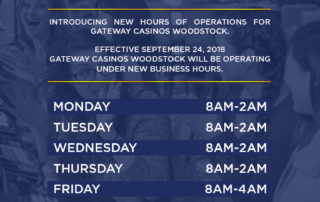 New Hours of Operations
